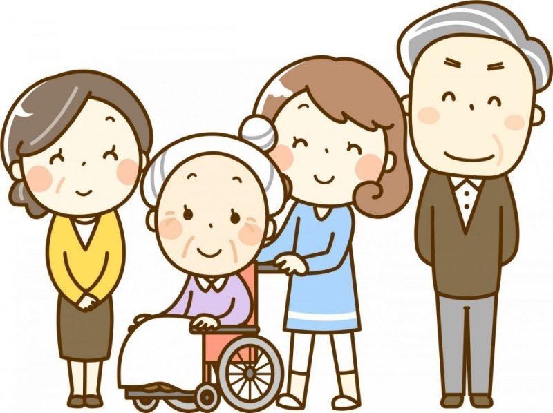 おばあちゃんと家族